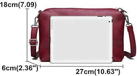2 PCS女性ソフトフェイクレザー大容量トートバッグソリッドカジュアルクロスボディバッグハンドバッグ YZUEYT