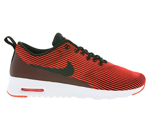 Nike Womens Wmns Air Max Thea Kjcrd, Black / Black-bright Crimson-white, 10 Us