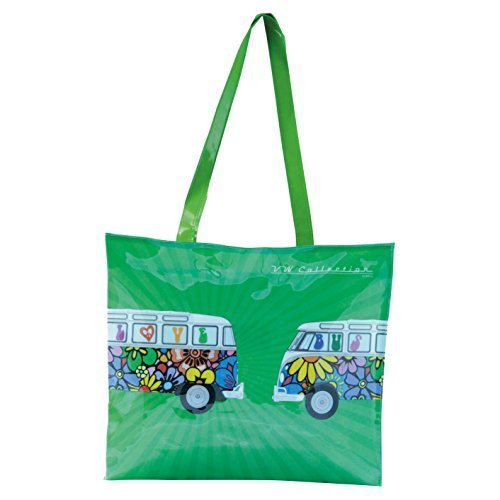 Price comparison product image VW Collection by Brisa Love Bus Pvc Shopper Bag by VW Collection by Brisa