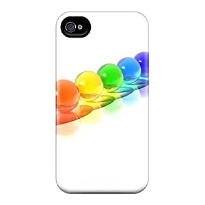 CaterolineWramight Snap On Hard Cases Covers Colorful Spheres 3d Protector For Iphone 6