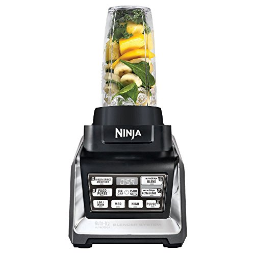 Nutri Ninja Mega 1500 Watts Kitchen System Blending And Food Processing 1 Base 2 Functions
