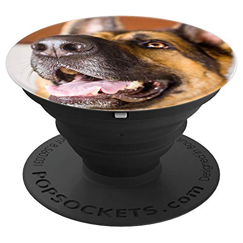 German Cute Shepherds (Cute German Shepherd - PopSockets Grip and Stand for Phones and Tablets)