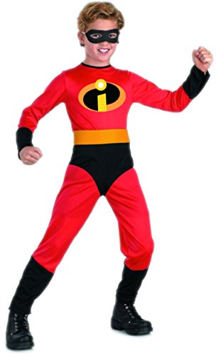 The Incredibles- Mr. Incredible Standard Child Costume: Size 3T-4T