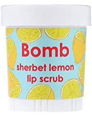 Bomb Cosmetics Sherbet Lemon Dudak Scrub 1 Paket (1 x 1 Adet)