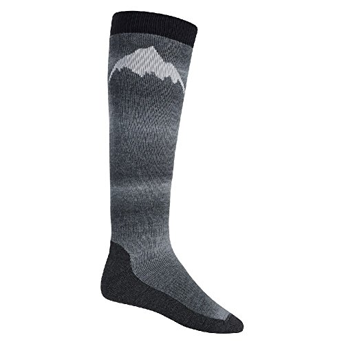(Burton Men's Merino Emblem Socks, True Black, Medium)