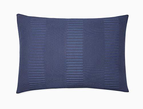 Calvin Klein Modern Cotton Steve Sham Pair, King, Navy (Calvin Klein Modern Cotton Modal Knit Sheet Collection)
