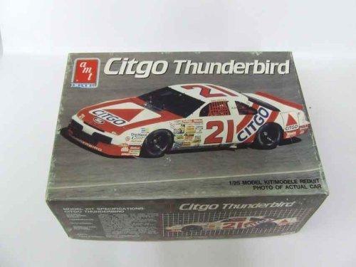 (#6733 AMT/Ertl Dale Jarrett Citgo Thunderbird 1/25 Scale Plastic Model Kit by AMI)