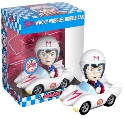 Speed Racer in Mach 5 Car (Japanese Speed Racer)