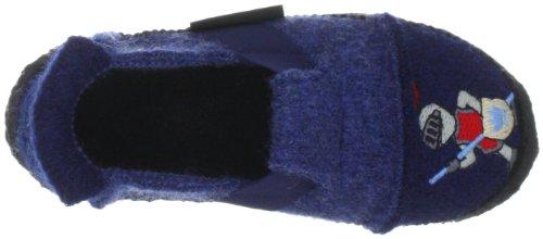 Nanga Ritter - Zapatillas de casa de fieltro niño azul - Blau (blau 30)