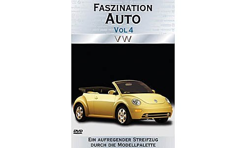 DVD fascination car Vol 4 - VW , Model Car, Ready-made, M i B  1:0