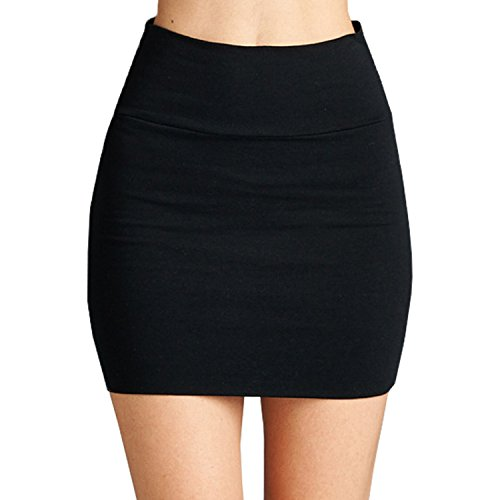 Mini Black Skirt: Amazon.com