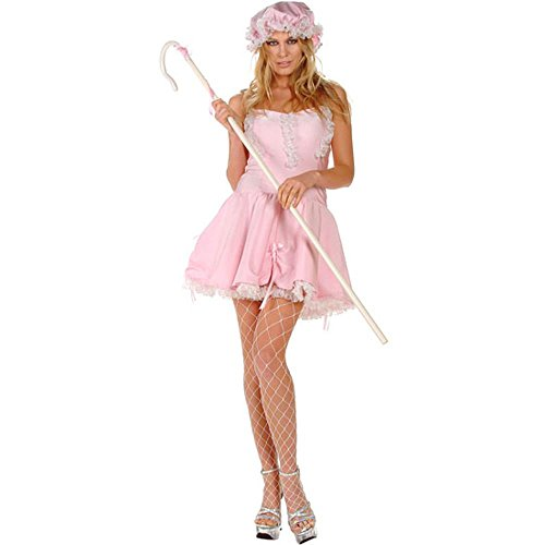Adult Sexy Little Bo Peep Costume (Size: Medium 6-10) (Bo Peep Costume For Adults)