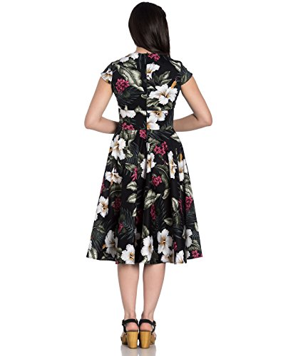 Hell Tropical Floral 50 Style Bunny Kalei Dress Annes Noir 1q1rUHgw
