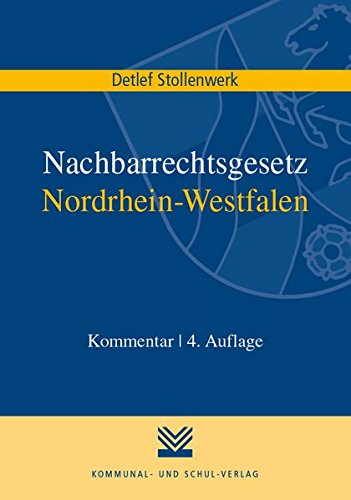 nachbarrechtsgesetz-nordrhein-westfalen-kommentar