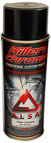 Amazon com: Alsa Refinish KC-KC-101 Chrome Spray Paint - 11