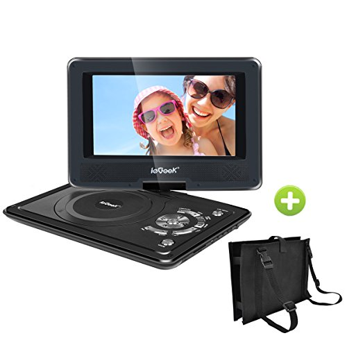 ieGeek Portable DVD Player Kit for Kids - 9.5