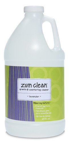 Zum Clean Lavender Granite and Countertop Cleaner (64 oz. refill) by Indigo Wild