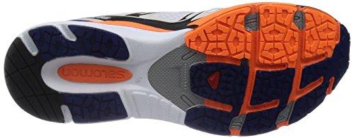 Noir Chaussures white g Blanc Running Salomon Homme 43 3D fluo 3 Scream X Orange EU de Blue Entrainement wBwUt8qO