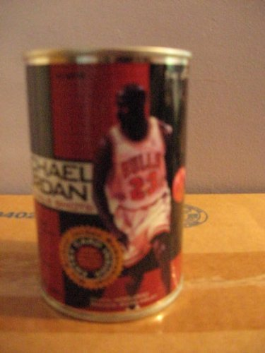(Collectible Michael Jordan NBA Final Shots Can contains 1 Pack of Upper Deck Michael Jordan NBA Final Shots Pack of Cards Featuring 1 Michael Jordan NBA Finals Shots Insert Card Plus 6 NBA UD Choice Series One Preview Trading Cards)