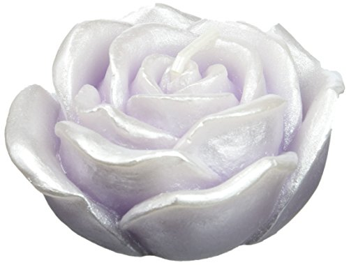 Zest Candle - Zest Candle 12-Piece Folding Candles, 3-Inch, Purple Rose