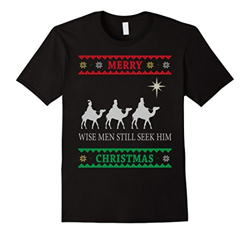 Wise Men Still Seek Him Biblical Magi T-shirt (Him Rock T-shirts)