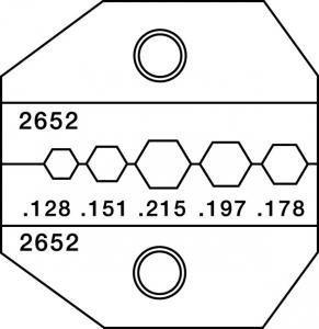 paladin-tools-2652-1300-8000-series-universal-fiber-die-by-greenlee-textron
