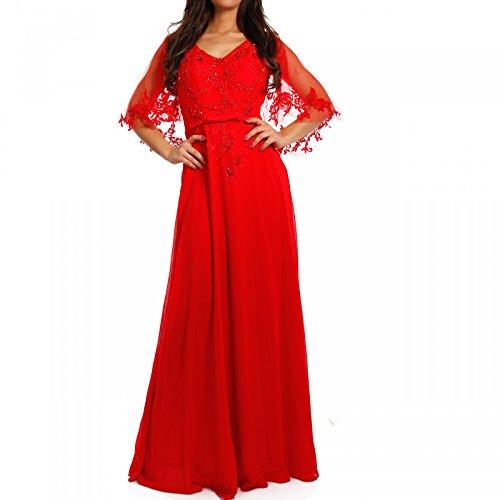 Abendkleid hochzeit rot