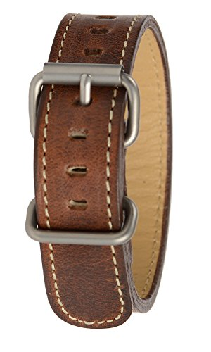 Bertucci B-218M Horween Nut Brown Montanaro Survival Leather 19mm - 3/4