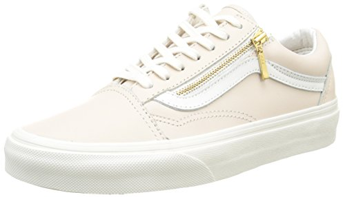 2931d5d727 Vans OLD SKOOL ZIP (LEATHER) mens skateboarding-shoes VN-018GIFN 7 - Whispering  Pink Bland De Blanc - Buy Online in Kuwait.