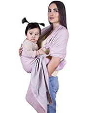 TinyMinyMoe Baby Wrap Carrier, Baby Ring Sling Carrier, Nursing Cover, Newborn Essentials