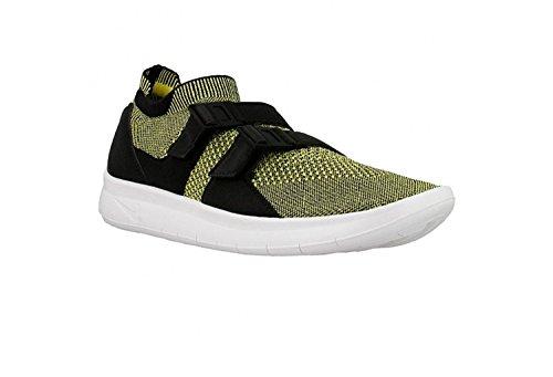 online retailer 2b04b f15c1 Galleon - Nike Men s Air Sockracer Flyknit Yellow Strike Yellow Strike  898022-700 Shoe 13 M US