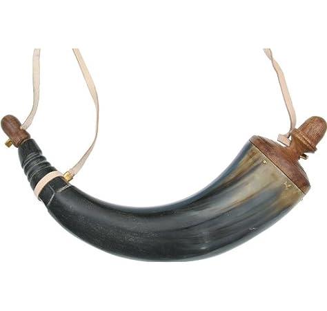 Hunting Horn Signal Horn Brass Horn With Shoulder Belt