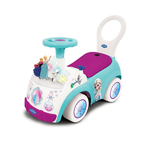 Frozen Ride On Toys Girls Toddler Princess Activity with Music Elsa Anna Story Kids (Princess Activity Ride On)