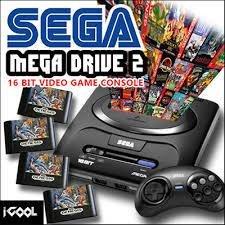 Original Sega Gen MD2 Classic High Definition Game Console 2017