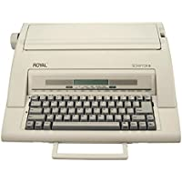 ROYAL(R) Scriptor II 69147T Electronic Typewriter, Taupe (Certified Refurbished)