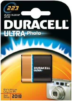 Duracell Ultra Batteries Photo Liyhium Dl 223 A 3 Pieces In Blister Pack Bürobedarf Schreibwaren