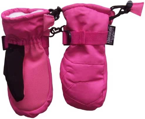 N'Ice Caps Kids Thinsulate Waterproof Winter Snowboarder Snow Mittens