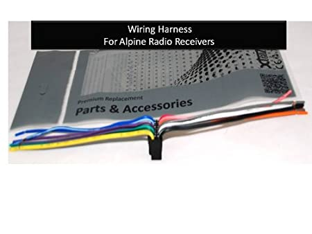41c5xQoNEfL._SX450_ amazon com alpine car stereo radio wire harness plug full 16 pin alpine stereo harness at gsmx.co