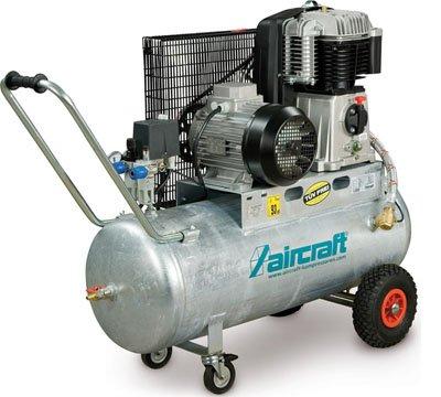 Aircraft AIRPROFI 703/100 LW – extremadamente robusto de Compresor con zweistufig verdichtendem zweizyli