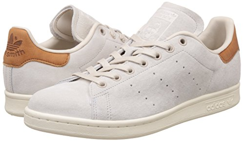 adidas Stan Smith, Zapatilla de Deporte Bajo el Cuello Unisex Adulto Beige (Clear Brown/clear Brown/off White)