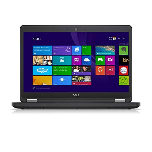 (Renewed) Dell Latitude E5450 14.5-inch Laptop (5th Gen Core i3 5500U/8GB/500GB/Windows10/MS Office2019 Pro/Integrated Graphics/Gaming laptop), Black