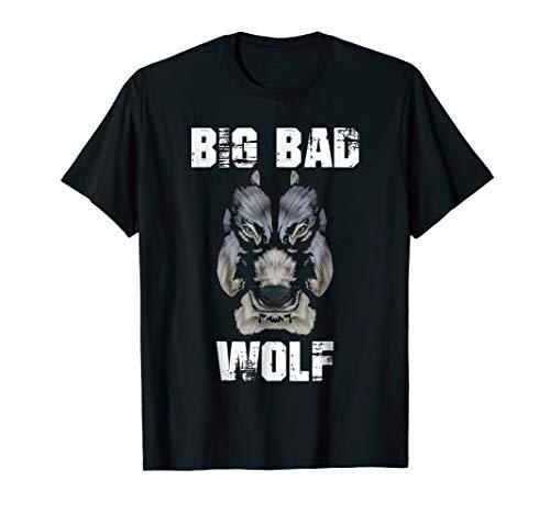 Wolf Big Bad Halloween Costume Teeth Face Paint Head -