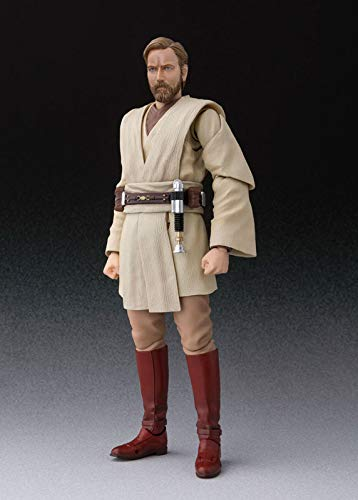 BANDAI SPIRITS S.H. Figuarts Star Wars OBI-Wan Kenobi (Star Wars: Revenge of The Sith) About 150mm ABS & PVC Painted Action Figure