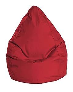 sitting point bean bag brava xl red tomate home kitchen. Black Bedroom Furniture Sets. Home Design Ideas