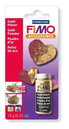 Fimo 3 g Powder, Silver 8708 BK ST