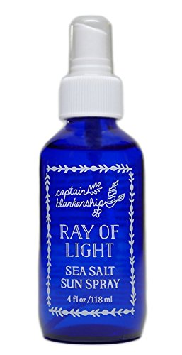 Organic Ray of Light Sea Salt Sun Spray, Captain Blankenship