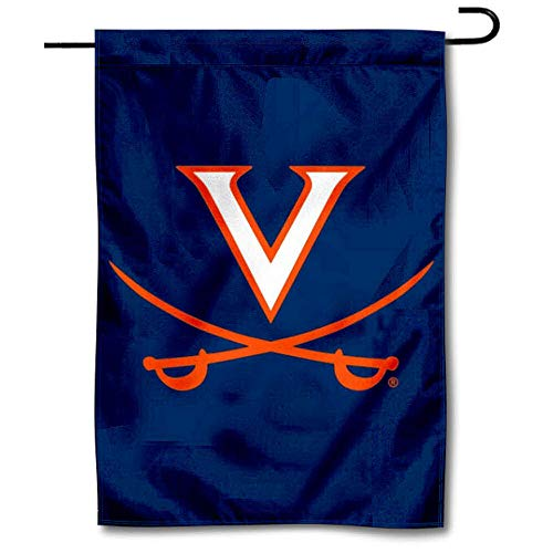 College Flags and Banners Co. Virginia Cavaliers Garden Flag (Virginia Garden Cavaliers)