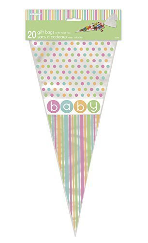 Pastel Baby Shower Piña Bolsas Celofán Pack de 20: Amazon.es ...