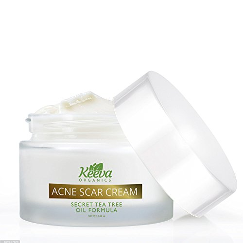 Acne Scar Removal Treatment Cream - 7X Faster Results - Secret TEA TREE OIL Organic Ingredients