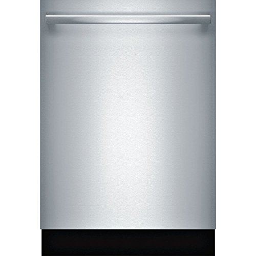 Bosch SHXM63WS5N 24″ 300 Series Built In Fully Integrated Dishwasher with 5 Wash Cycles, in Stainless Steel